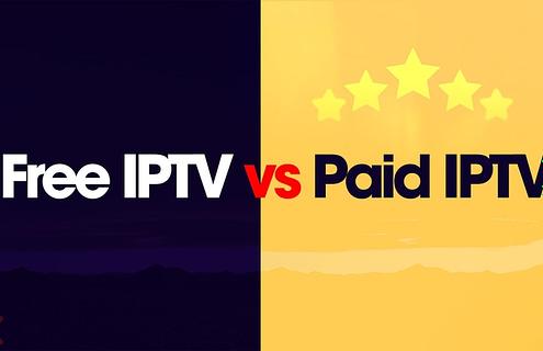 Free IPTV Vs Paid IPTV Service