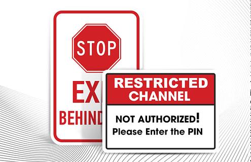 Adding Parental control on IPTV APP