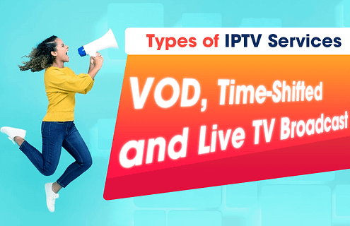 Types of IPTV Services, VOD, Time-Shifted and Live