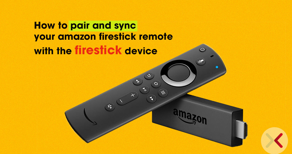 How to pair and sync your amazon firestick remote with the firestick device